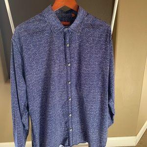 Tori Richards large men's long sleeve dress shirt